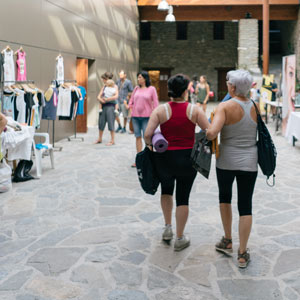 marketplace positivo yoga festival