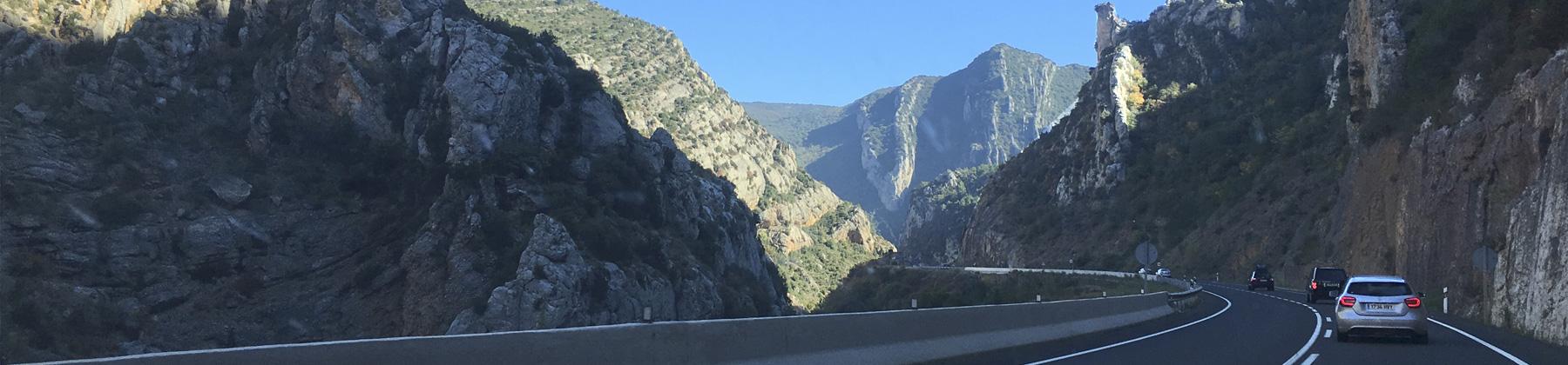 carretera benasque