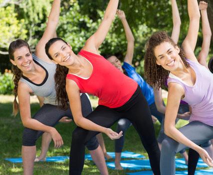 chicas yoga