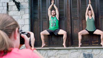 fotografia yoga positivo festival