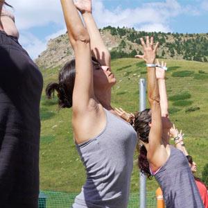 yoga benasque positivo festival