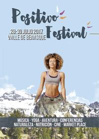 Cartel Positivo Festival