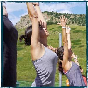 Yoga Ampriu Cerler Positivo Festival